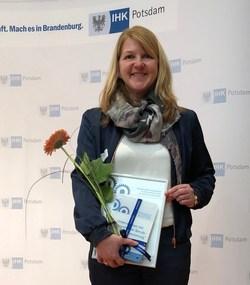 Doreen Raschemann, bei Energiequelle für die Kooperation verantwortlich (Bild: Energiequelle)