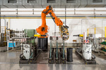 Neuer Isolierroboter im Sachsenwerk