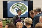 Niederländischer König Willem-Alexander und Königin Máxima blicken auf Ideen und Planungen für Windenergie-Insel in der Nordsee