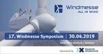 17. Windmesse Symposium 2019: Teilnahme sichern bis 15.04.2019