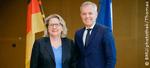 Schulze und de Rugy bekräftigen enge Zusammenarbeit beim Schutz des Klimas und der biologischen Vielfalt