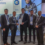 TÜV SÜD presents certificate to ESTEYCO