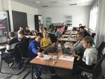 Programmieren wie die Großen - Schüler lernen den Calliope Mini-Computer bei Stego kennen