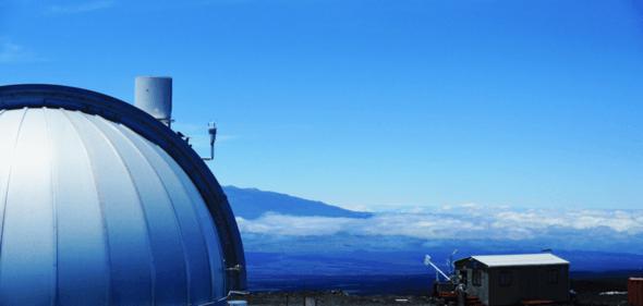 Das Observatorium auf Mauna Loa auf Hawaii (Bild: NOAA)