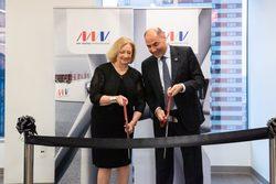 Massachusetts State Representative, Patricia Haddad, and MHI Vestas CEO, Philippe Kavafyan (Image: MHI Vestas)