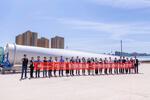 Covestro liefert erstmals Polyurethanharz für den Einsatz in Windrotorblättern