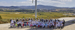 ACCIONA group facilities in Barasoain host the main events of global wind day in Spain