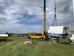 Sabowind Service: Large-component replacement in Saxony's oldest wind farm