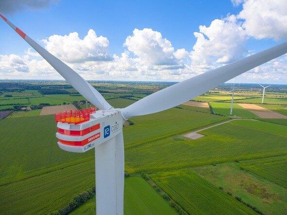 Die Deutsche Windtechnik übernimmt im Windpark Handewitt den Anlagenservice für Senvion 6.2M-Anlagen (Bild: re:cap global investors ag)