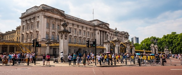 Buckingham Palace is the official residence of the British monarch in London (Image: Pixabay)