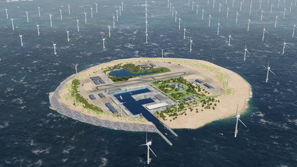 Diese Energieinsel ist vom Tisch (Bild: TenneT)