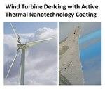 WINDGO Nanotech Thermal Coatings Help Prevent Wind Turbine Ice Build-up