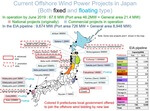 Japanese government announced 11 offshore wind power promoting sea area