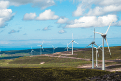 The Berry Burn Wind Farm in Moray, Scotland, where Airvolution are proposing an extension of up to 10 turbines (Image: Statkraft/Airvolution)