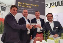 Im Rahmen der HUSUM Wind 2019 begründeten GP JOULE und Green Fuels Projektinitiative für Bremerhaven. (Bild: GP JOULE)