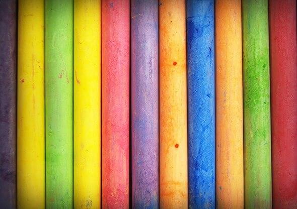 So bunt wie hier ist das politische Farbspektrum in den USA nicht (Bild: Pixabay)