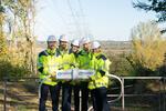 TenneT vervierfacht die Strom-Transportkapazität auf rund 45 Kilometern zwischen Hamburg/Nord und Dollern