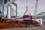 Shore Leave: A 107-Meter-Long Blade For The World's Most Powerful Offshore Wind Turbine Arrives In Boston For Testing