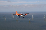 How do offshore wind farms change the wind?