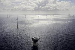 Borkum Riffgrund 1 Offshore Wind Farm adjacent to the planned Borkum Riffgrund 3 project   Source: Orsted
