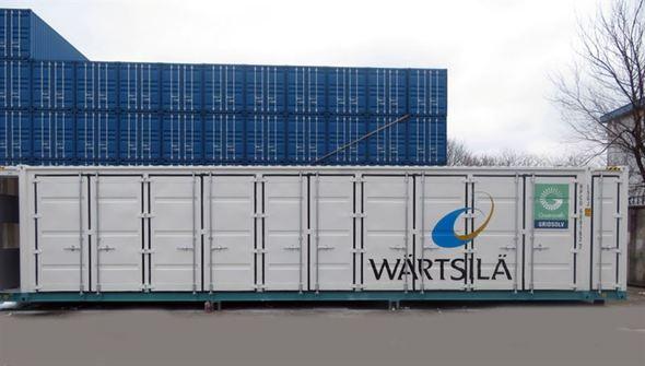 Wärtsilä's GridSolv solution optimises storage technology (Image: Wärtsilä)