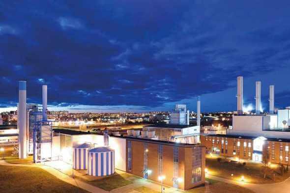 """Die neue Power-to-Heat-Anlage wird das GuD-Kraftwerk der Stadterke Rostock ergänzen und die Fernwärme """"grüner"""" machen (Bild: Stadtwerke Rostock)"""