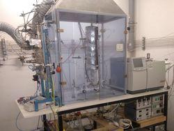 Fischer-Tropsch-Reaktor der Uni Bayreth (Bild: Uni Bayreuth)