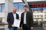Ehrung für Teilnahme der HAWE Hydraulik SE am Umweltpakt Bayern