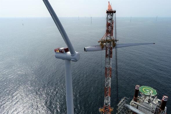Eine grüne Lieferkette für grünen Strom - das ist das Ziel von Ørsted (Bild: Ørsted)