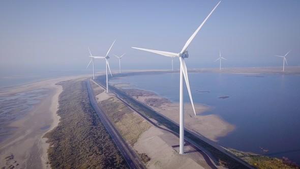 Slufterdam wind farm (Image: Eneco)