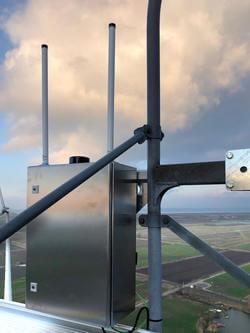 Wesermarsch: erste transponderbasierte Detektionssysteme mit multilateraler Struktur im Praxistest (Bild: Quantec Sensors GmbH)