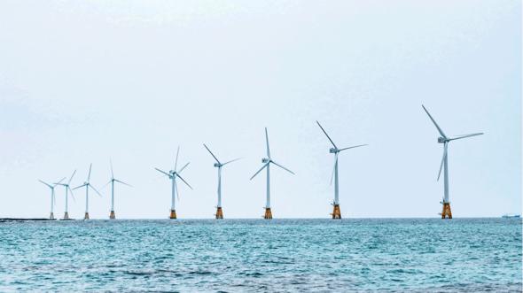 Vor der niederländischen Küste entsteht eine der größten Windparkzonen weltweit (Bild: TÜV Nord)