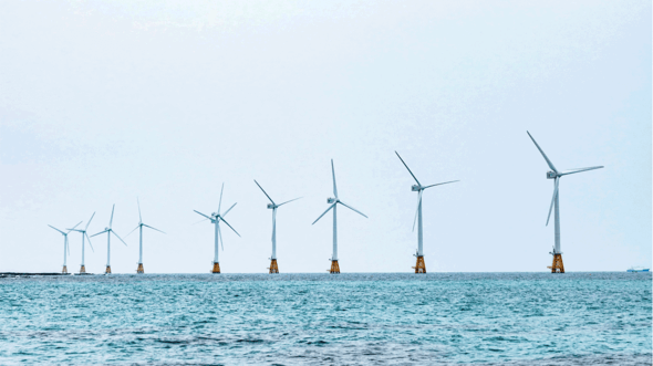 One of the largest wind farm zones is being built off the Dutch coast (Image: TÜV Nord)