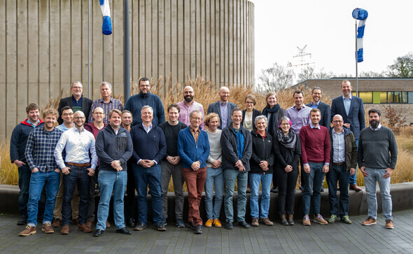 Die Projektpartner beim Kickoff-Treffen bei ForWind in Oldenburg (Foto: ForWind, Universität Oldenburg)