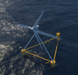 PivotBuoy design to be tested at PLOCAN using a Vestas V29 turbine (Image: X1 Wind)