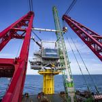 Successful installation of two offshore substations marks major milestone at the SeaMade offshore wind farm