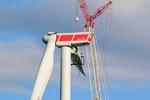 Bei 141 Metern dreht sich's bald kraftvoll um die Energiewende