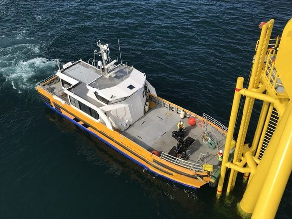Windcat crew transfer vessel (Image: Windcat via ORE Catapult)