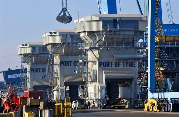 Bild: Port of Tyne
