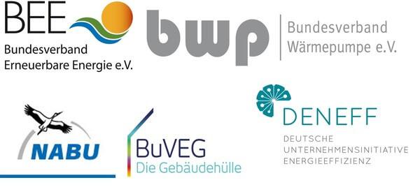 Die beteiligten Organisationen (Quelle: BEE)