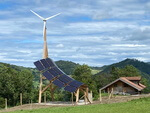 Wind and solar power with unmistakable design in Austria!