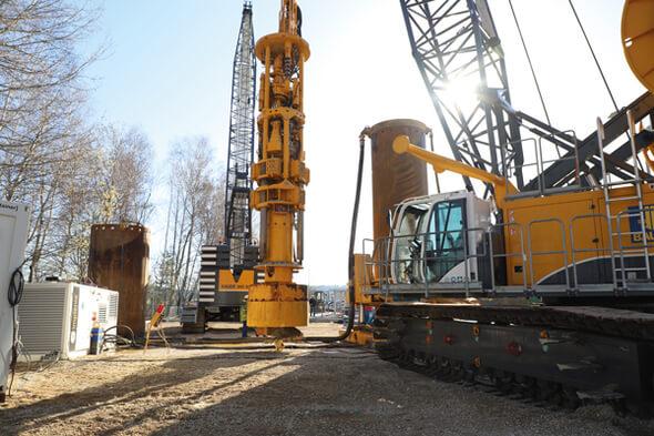 Der Dive Drill DD 40 U wurde in enger Zusammenarbeit der BAUER Spezialtiefbau GmbH mit der BAUER Maschinen GmbH konstruiert (Bild: BAUER Group)