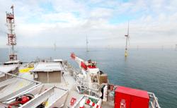 Borkum Riffgrund Wind Farm (Image: Semco Maritime)