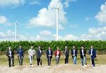 Spatenstich für vier neue Windenergieanlagen in Poysdorf-Wilfersdorf