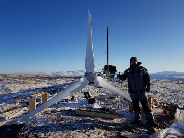 Image: BRAUN Windturbinen