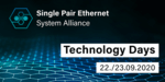 Technology Days: Internationale Digitalkonferenz zu Single Pair Ethernet