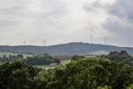 Neuer Windpark Lieger Wald am Netz