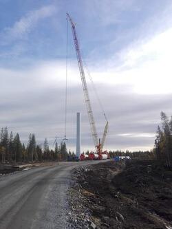 Ein Riese bei der Arbeit: ein CC3800 im Einsatz für EFG Scandinavia in Schweden (Bild: EMS-Fehn-Group)