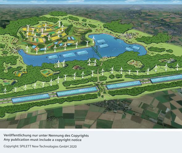 Kerpens innovatives Energie- und Infrastrukturkonzept hat Vorbildcharakter für Europa (Bild: SPILETT New Technologies GmbH 2020)