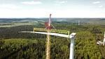 Windpark Rosskopf am Netz